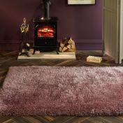 Extravagance Lilac Shaggy Rug by Origins