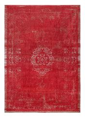 Fading World Medallion 9147 Cherry Rug by Louis De Poortere