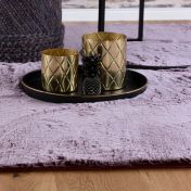 Flamenco FLA 425 Berry Shaggy Rug by Unique Rugs