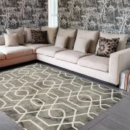 Fresco Grey Rug By Asiatic
