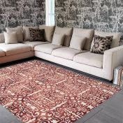 Fresco Red Rug By Asiatic