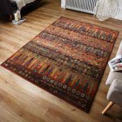 Gabbeh 415 C Gold/Rust Oriental Rug by Oriental Weavers
