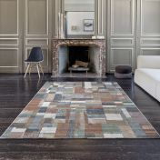 Galleria 063 0244 2626 Multi Abstract Rug By Mastercraft
