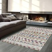 Galleria 063 0342 6191 Multi Striped Rug By Mastercraft