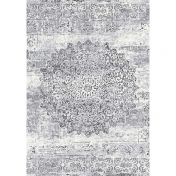 Galleria 063 0375 9676 Grey Floral  Rug By Mastercraft