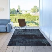 Galleria 063 0378 5131 Blue Abstract Rug By Mastercraft