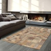Galleria 079 0244 4848 Beige Abstract Rug By Mastercraft