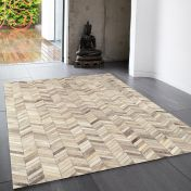 Gaucho Chevron Abstract Rug By Asiatic