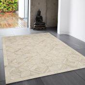 Gaucho Parquet Geometric Rug By Asiatic