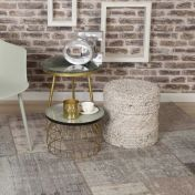 Gent GEN 751 Silver Abstract Rug