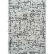 Geo 041-00032131 White Grey Contemporary Abstract Rug by Mastercraft