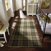 Glen Kilry Sage Chequered Modern Rug by Flair Rugs