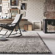 Gravel Mix 68211 Grey Wool Rug by Brink & Campman