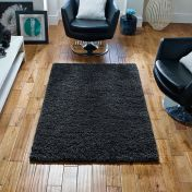 Harmony Charcoal Shaggy Rug by Oriental Weavers
