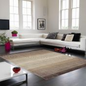 Hays Brown Striped Rug By Asiatic