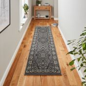 Heritage 4400 Silver Traditional Runner By Think Rugs