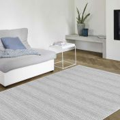High Line 099 0131 3000 96 Grey Wool Rug by Mastercraft