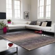 Holborn Lunar Striped Contemporary Rug by Asiatic