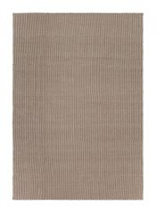 Ida Taupe Chequered Rug by Claire Gaudion