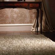 Imperial Ivory Shaggy Wool Rug by Rug Guru