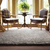 Imperial Mid Mix Shaggy Wool Rug by Rug Guru