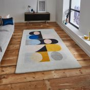 Inaluxe Jazz Flute IX08 Designer Rug by Think Rugs