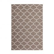 Indonesia Batu Beige Modern Runner by Unique Rugs
