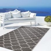 Indonesia Batu Grey Modern Rug by Unique Rugs
