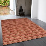 Joseph Sienna Striped Soft Wool Rug by Asiatic