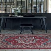 Kashqai 4354 300 Red Traditional Wool Rug by Mastercraft