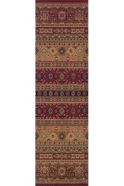 Kendra 135 R Red/Rust Traditional Runner by Oriental Weavers