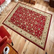 Kendra 137 R Red Traditional Rug By Oriental Weavers