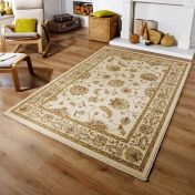 Kendra 2330 X Cream Traditional Rug by Oriental Weavers