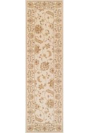 Kendra 2330 X Cream Traditional Runner by Oriental Weavers