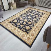 Kendra 3330 B Blue Traditional Rug by Oriental Weavers