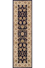 Kendra 3330 B Blue Traditional Runner by Oriental Weavers