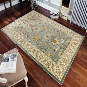 Kendra 45 L Aqua Traditional Rug By Oriental Weavers