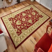 Kendra 45 M Red Traditional Rug By Oriental Weavers