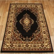 Keshan 112 Z Chocolate Aubusson Rug by Oriental Weavers