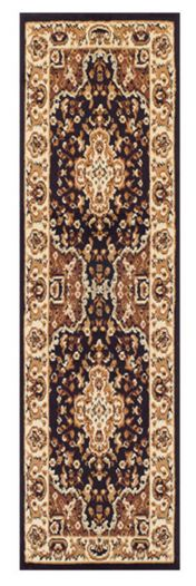 Keshan 112 Z Chocolate Aubusson Runner by Oriental Weavers