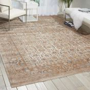 Malta MAI04 Taupe Traditional Rug by Kathy Ireland