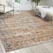 Malta MAI05 Taupe Traditional Rug by Kathy Ireland