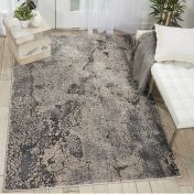 Heritage KI352 Grey Rug by Kathy Ireland