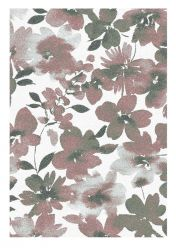 Liberty 034-0006-6111 Pink Floral Rug by Mastercraft