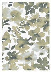 Liberty 034-0006-6191 Olive Floral Rug by Mastercraft