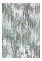 Liberty 034-0009-6151 Blue Abstract Rug by Mastercraft