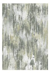 Liberty 034-0009-6191 Gold Green Abstract Rug by Mastercraft