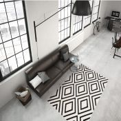 Lina 500 Ivory Schwarz Modern Runner by Unique Rugs