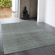 Linden Aqua Rug By Asiatic