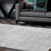 Linley Natural Plain Wool Rug by Asiatic